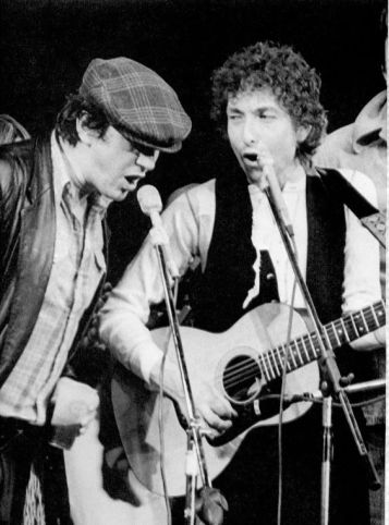 Bob Dylan and Phil Ochs May 9, 1974 Friends of Chile Benefit New York