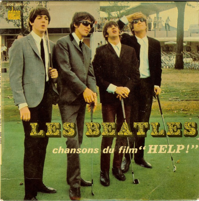 29 chansons du film help french ep beatles picture sleeve